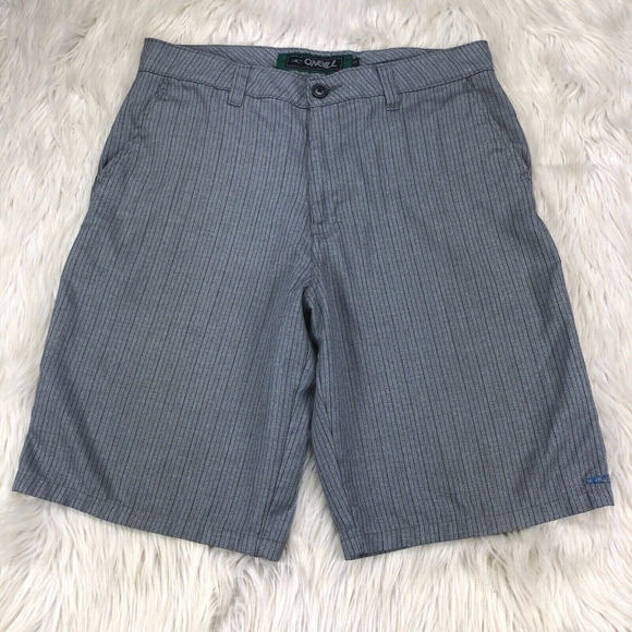 O'Neill Other - O'Neill Pin Striped Flat Front Shorts